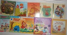 Lot of 10 Disney Toy Story Children Picture Books Nemo Fraggle Mickey Ariel