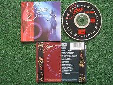 SELENA Y LOS DINOS **En Vivo** DIFFERENT COVER Mexican 1993 CD ON EMI RARE!!