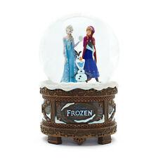 Original Disney Eiskönigin Schneekugel  von Disneyland Elsa Anna Olaf NEU OVP