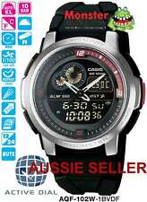 AUSSIE SELLER CASIO ACTIVE DIAL WORLD AQF102W AQF-102W-1BV AQF102 12-MTH WRTY