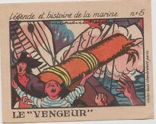 CHROMO/IMAGE PUBLICITAIRE/PHOSPHATINE FALIERES-LA MARINE/LE VENGEUR-N°5/BATEAU