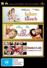 Love Actually / Failure To Launch / Just Like Heaven (DVD, 2007, 3-Disc Set)