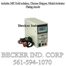 Digital 24K Gold/Chrome/Silver/Plating Machine, NEW !!!
