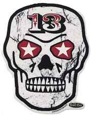Skull 13 Sticker Decal Vince Ray VR68