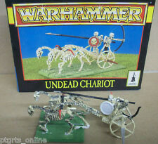 Warhammer Fantasy Vampire Counts Undead Chariot Out of Print Excellent Condition