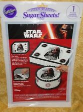Star Wars,Kylo Ren ,Sugar Sheet,Edible Decorating Paper,Wilton,710-5083 Padawan