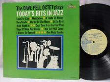 THE DAVE PELL OCTET LP: Today's Hits In Jazz, Promo Smooth Audition