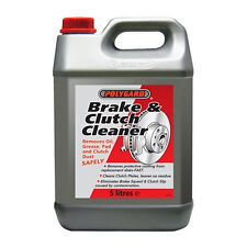 POLYGARD BRAKE CLEANER CLUTCH & PARTS CLEANER ELIMINATES BRAKE SQUEAL 5 LITRES