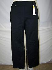 Charter Club Black Classic Fit Slimming Ankle Pants Womens Size 14 Large Petite