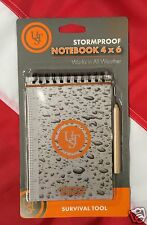 Storm proof notebook 4X6 all weather tactical gear disaster waterproof  50pg UST