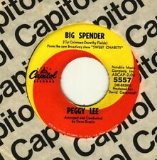 Peggy Lee - Big Spender / Trapped - GUARANTEED ORIGINAL - NEW OLD STOCK