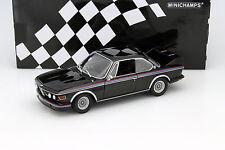 Bmw 3.0 CSL (e9) Coupe año de construcción 1973 negro 1:18 Minichamps