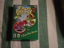 Frog Frenzy 2 (PC, 2002) A Jungle Safari Adventure, Rated E for Everyone  NEW