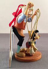 Disney Store Pinocchio & Geppetto Sketchbook Christmas Ornament New With Package