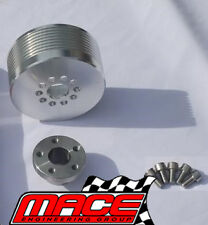 BOOST PULLEY UPGRADE KIT HOLDEN VS VT VX VU VY WH WK M90 L67 SUPERCHARGED 3.8 V6
