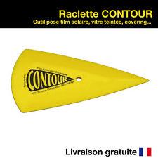 Raclette Contour outil de pose vitre teintée film solaire covering squeegee pro