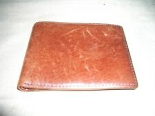 **NEW** BROWN LEATHER MENS WALLET & CREDIT CARD HOLDER