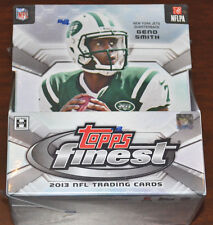 2013 Topps Finest Football Factory Sealed Hobby Box