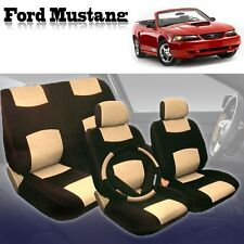 1999 2000 2001 2002 2003 2004 For Ford Mustang Seat Cover