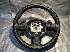 Mini Cooper steering wheel W/ Paddles Black