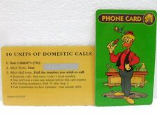 "10 UNITS OF DOMESTIC CALLS-DISNEY ""ARCHIMEDE PITAGORICO-GYRO GEARLOOSE""-01/31/97"