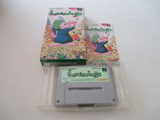 LEMMINGS SUNSOFT SFC SUPER FAMICOM JAPAN IMPORT COMPLETE IN BOX!
