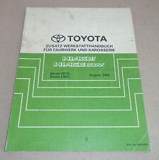 Werkstatthandbuch Toyota Hiace / S.B.V Lenkung Getriebe Bremsen...von 08/1996