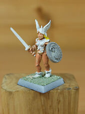 CLASSIC Metal Citadel Norse BARBARIAN FEMMINA MAIDEN WARRIOR FIGHTER (1837)