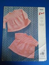 Emu Child's Angel Tops Knitting Pattern 8165