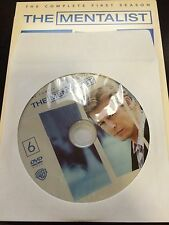 The Mentalist - Season 1, Disc 6 REPLACEMENT DISC (not full season)