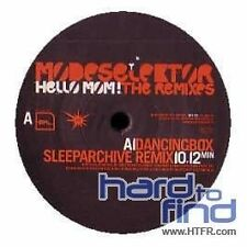 MODESELEKTOR - HELLO MOM! THE REMIXES  VINYL SINGLE NEU