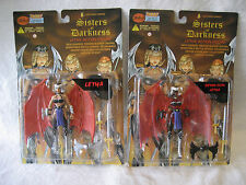 Skybolt Toyz LETHA & Demon Skin variant action figure LOT sexy MOC toy Lightning