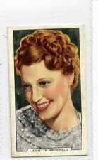 (Js319-100) Gallaher,My Favourite Part,Jeanette Macdonald, 1939 #37