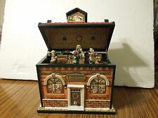 Christmas House Jewerly Box animated/musical plays Santa Claus Is Coming To Town