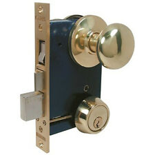 Marks USA 22AC/3-W-LHR Brass Mortise Lock For Storm Door & Security Door
