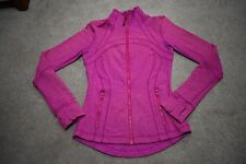 Lululemon Define Jacket- heathered paris pink- size 4- EUC (read description)