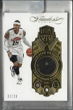 2015/16 Panini FLAWLESS Carmelo Anthony USA TRIPLE GEM SSP 2/10