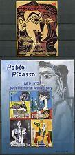Granada granadinas 2003 picasso pinturas pinturas Art 4016-19 + bL. 580 ** mnh