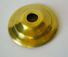 """1 3/4"""" Solid Brass Vase Cap Cover or Ceiling or Wall Canopy Hobby 101"""