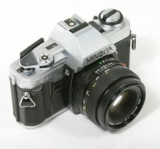 Minolta X-370 Manual Film Camera with MD 50mm F/2 Lens Top Students Choice