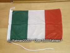 Fahnen Flagge Italien Bootsfahne Tischwimpel - 30 x 45 cm