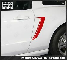 Ford Mustang Side Gill Stripes 2013 2014 2010 2011 2012 Decals Pro Motor