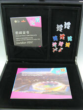 2012 London Olympic and Paralympic Games Coin Pin Stamp Collection All Set