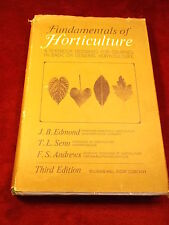 "OLD VTG 1964 BOOK ""FUNDAMENTALS OF HORTICULTURE"" A TEXTBOOK FOR BASICS/GENERAL"