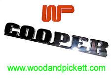 CLASSIC MINI - COOPER BOOTLID BADGE - DAH100950MMM