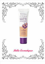 RIMMEL LONDON STAY MATTE LIQUID MOUSSE FOUNDATION 201 CLASSIC BEIGE