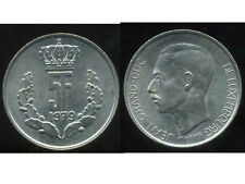 LUXEMBOURG  5 francs  1979  ( bis )