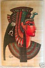 Papyrus Painting From Egyptian Art Caravan of Cleopatra the last Pharaoh