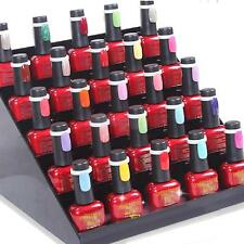 100 Nail Art Polish UV Gel Pops Color Practice Display Stand Rings Tips Tool