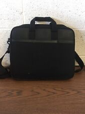 "Black HP Cushioned Laptop Case Briefcase Bag 16"" X 14"""
